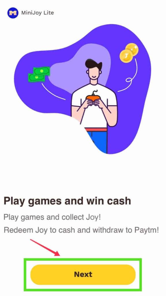 minijoy paytm cash earn