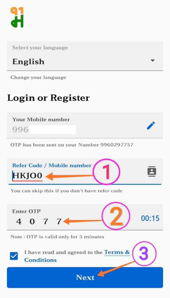 refer and form mall91