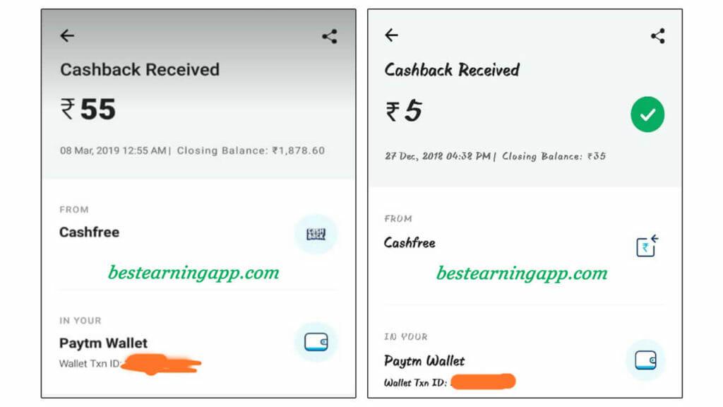 Big Cash Payment Proof