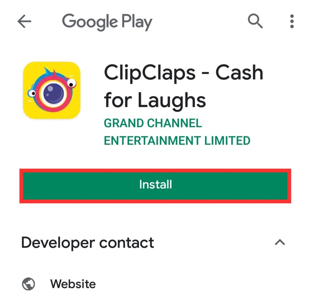 refer code ClipClaps App