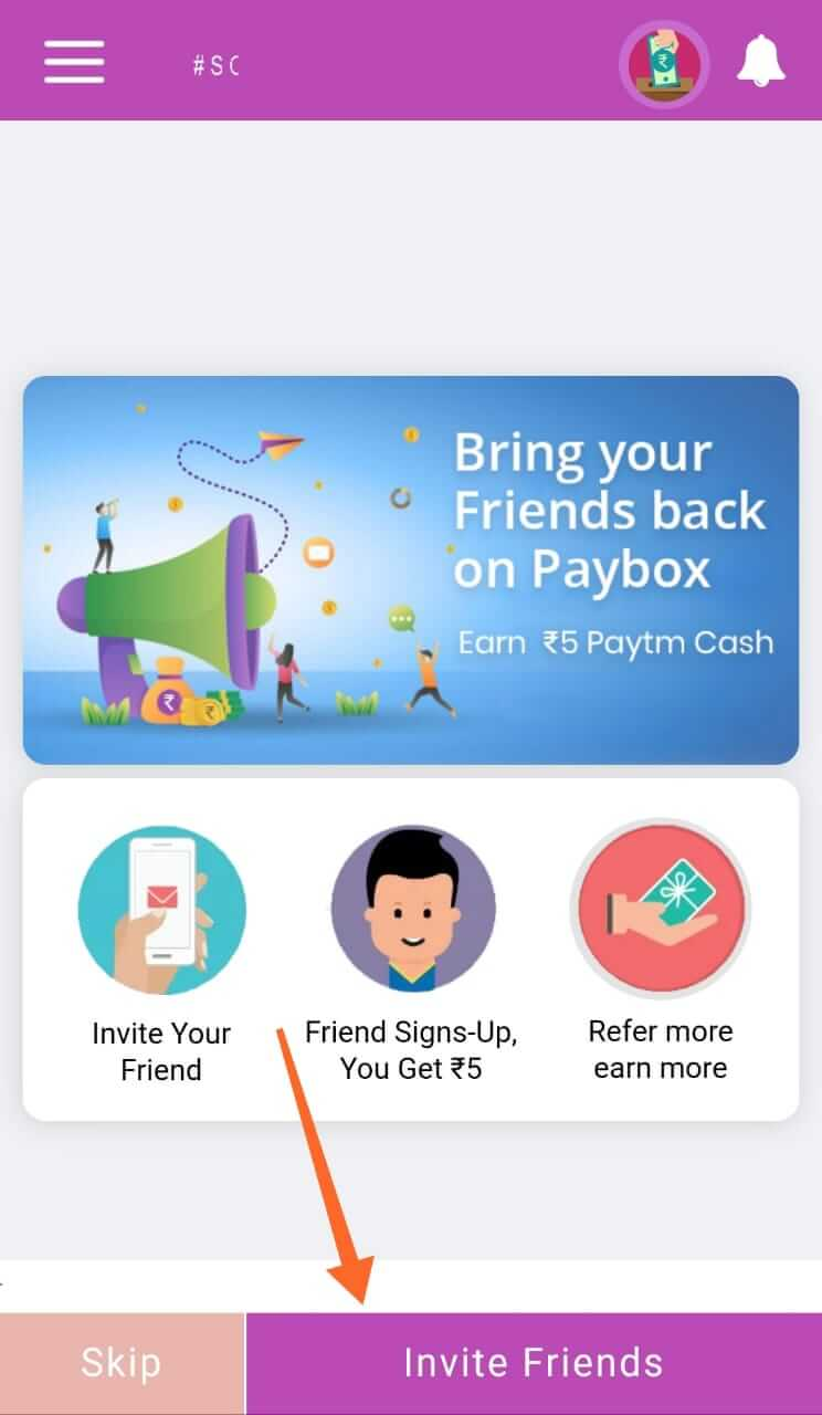 Invite Your Friends And Earn Money
