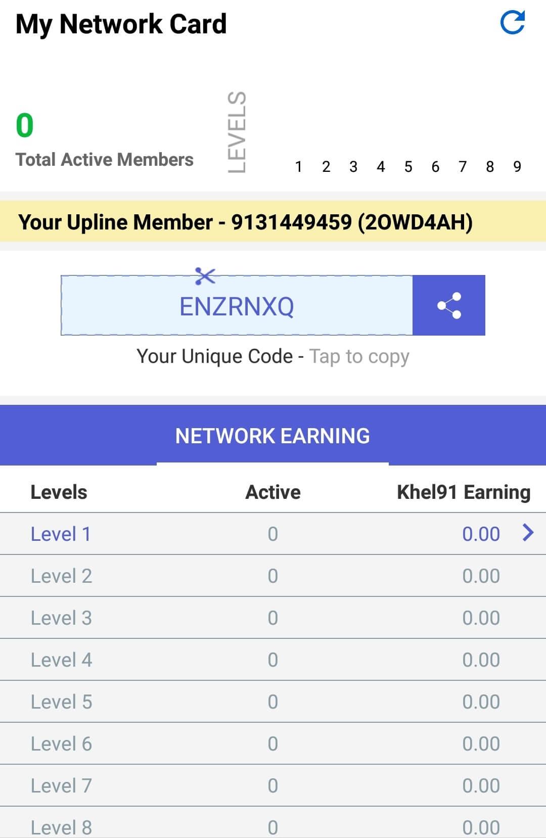 Khel91 App Referral Code