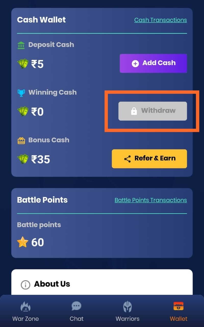 Money From EWar App