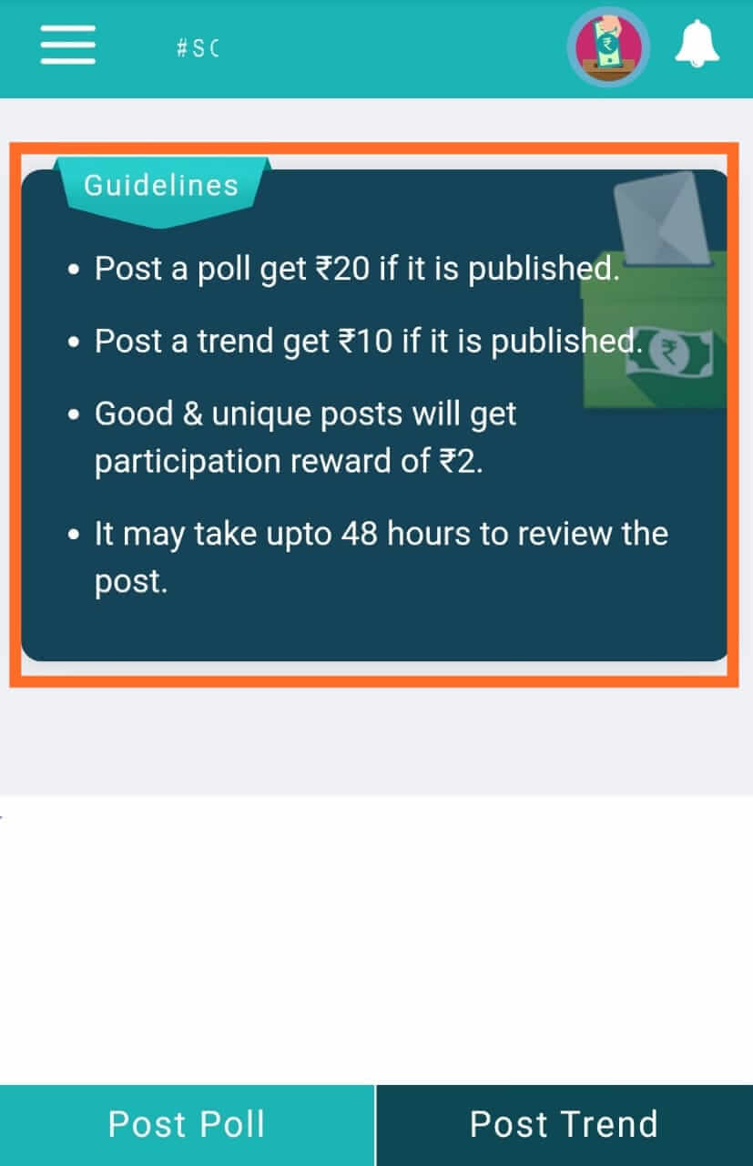 Share Post and Earn