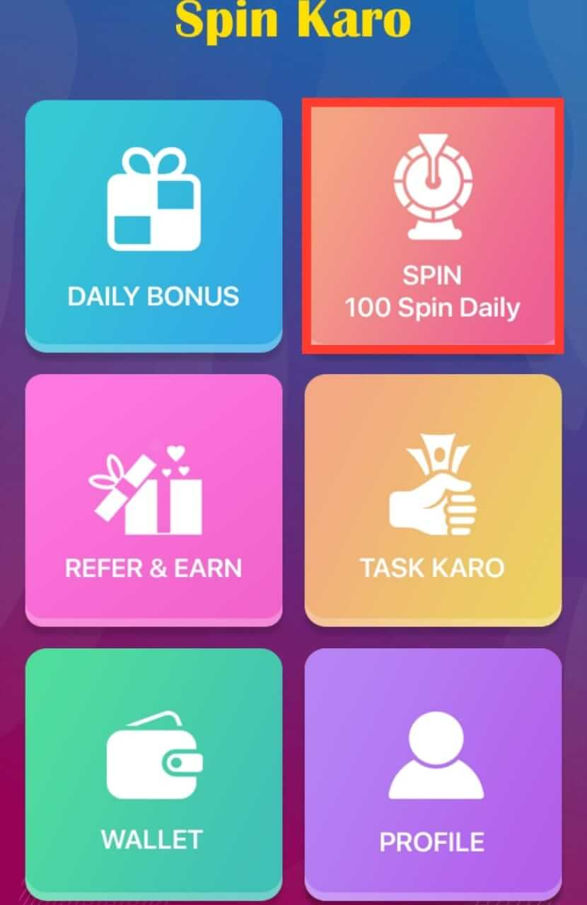 Spin and Win 100 Coins