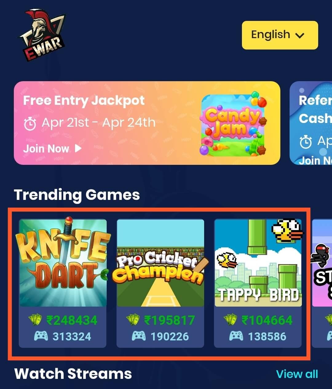 Trending Games